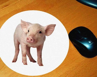 1 model pig mouse pad