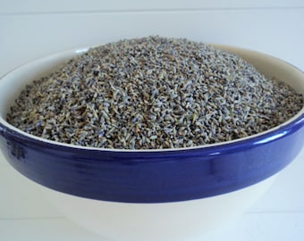 1 lb DRIED LAVENDER, Bulk Lavender, Aromatherapy, Candlemaking, Soapmaking, Lavender Confetti, Potpourri, craft supplies