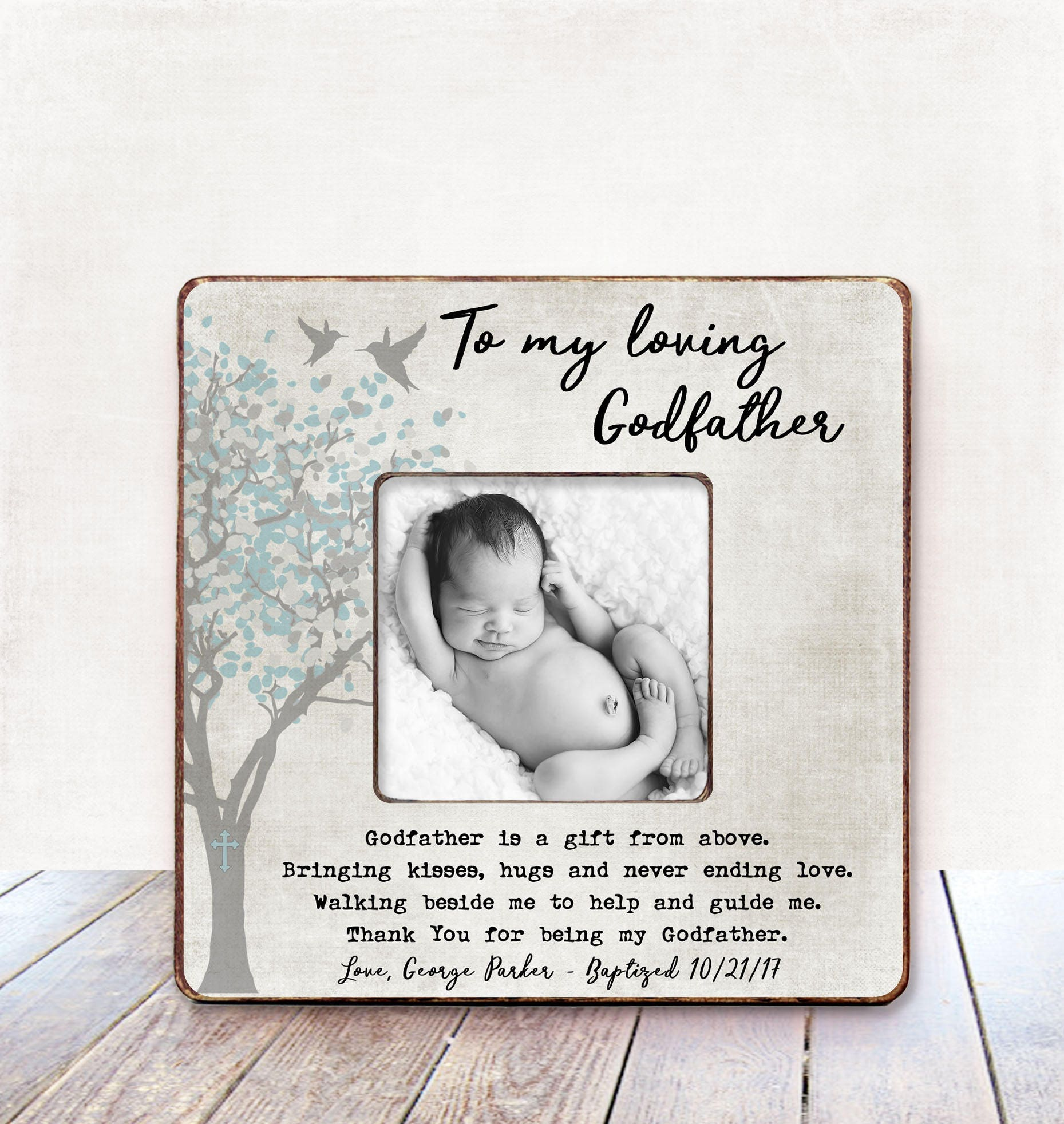 Godfather Gift Baptism Gift Godfather Christening Gift Godfather ...
