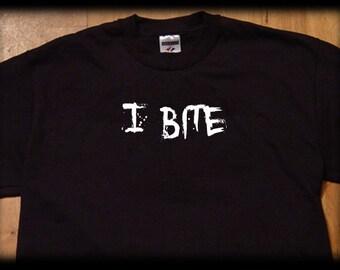 I bite t shirt