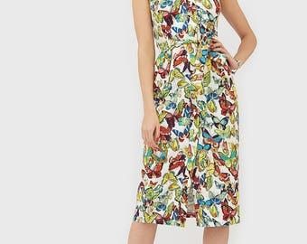 Midi dress Summer dress Women dress Womens dresses Elegant dress Day dress Holiday dress