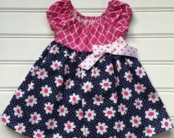 Toddler Summer Dress, Toddler Girl Dress, Girl Summer Dress, Toddler Party Dress, Little Girl Dress, Birthday Dress, 2T 3T 4T Ready to Ship