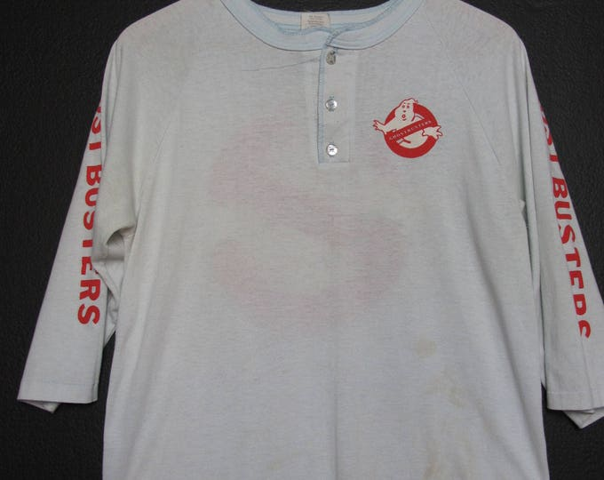 Ghostbusters 1980's vintage Raglan Shirt