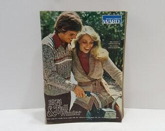 1974 Montgomery Ward Fall Winter Vintage Catalog