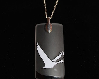Lone Goose Necklace