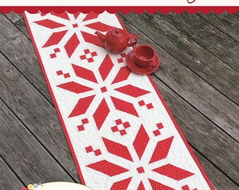 Scandinavian Style Table Runner Pattern  by Sherri Falls for This and That