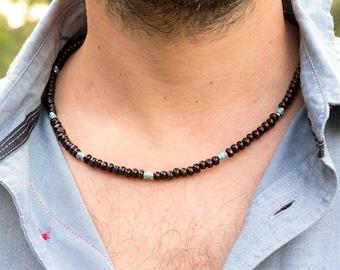 Men's Necklace // Wooden Beads Necklace For Men // Wooden Necklace // Natural Wood Necklace // Tribal Necklace // Natural Necklace