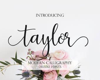 Font download, Digital font, Calligraphy font, Script Font, Handwritten font, Wedding font, Brush font, Modern font. Instant download