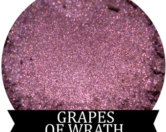 GRAPES OF WRATH  Purple Mineral Eyeshadow