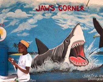 "8x10"" Photo/Print - Jaws Corner in Stonetown, Zanzibar, Tanzania"