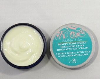 Irish Moss and Pink Himalayan Cream