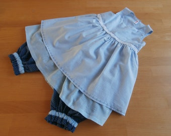 Set of girl's clothing - blue