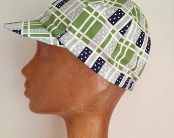 SALE Spring Green Cycling Cap