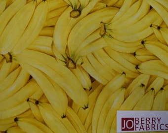 Bananas from the Farmers Market Collection by RJR.  Quilt or Craft Fabric, Fabric by the Yard.