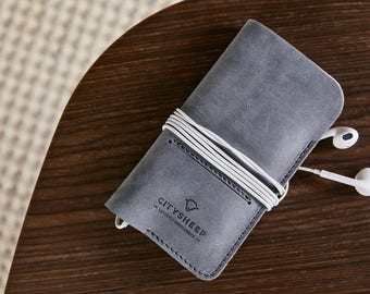 iPhone wallet case iPhone SE case iPhone 8 case Leather iPhone case Leather iPhone 8 case iPhone felt case iPhone pockets iPhone card hold