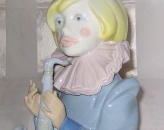 Lladro Clown Figurine - Sad Note #5586