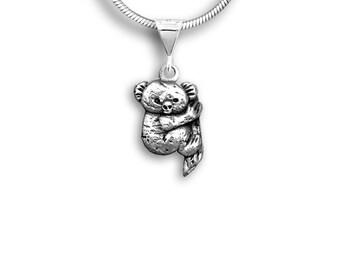 Sterling Silver Koala Pendant