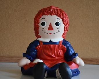 Vintage 1981 Ceramic Raggy Ann Doll