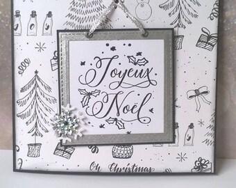 Christmas - Card menu with 6 cards