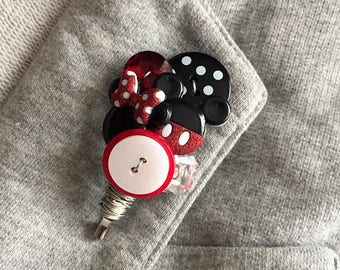 Mickey & Minnie - Lapel Pin