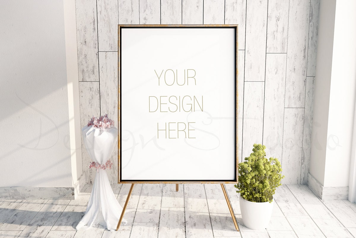 zoom - Easel Picture Frame