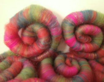 Rolags for spinning