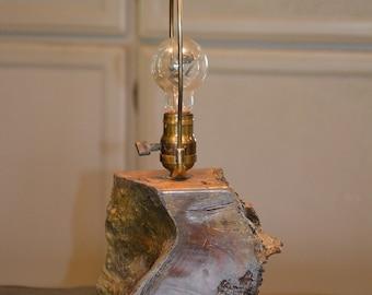 California Redwood Lamp