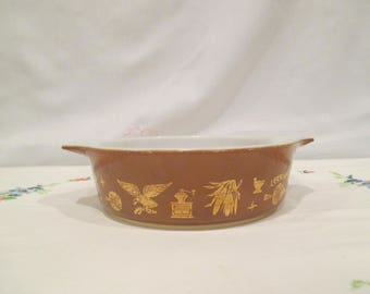 Pyrex Early American 471 without Lid