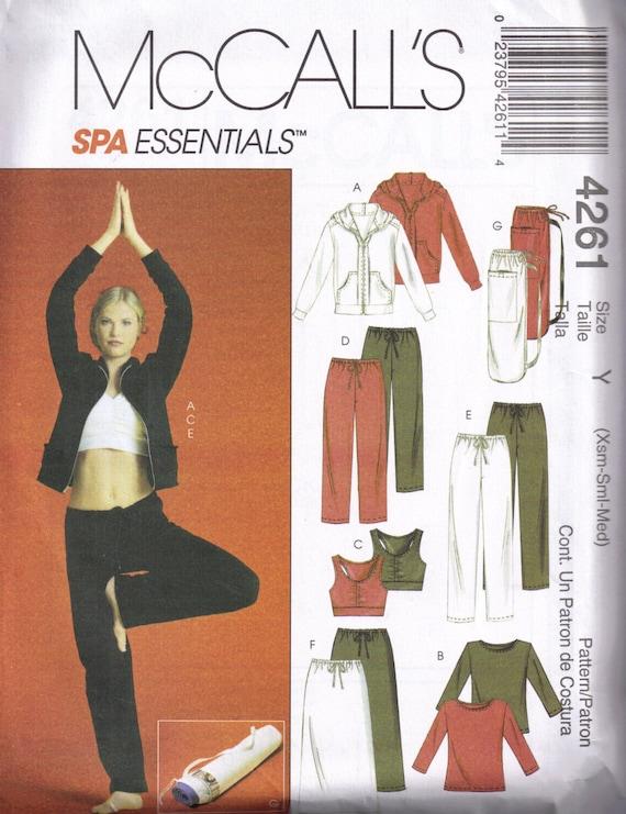 Nähen Muster Yoga Übung Spa Sport BH-Tops Hosen Rock und