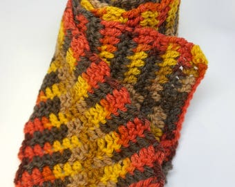 Handmade crocheted scarf - In The MiX - Relish