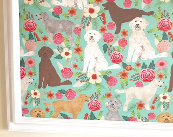 Goldendoodle Pin Board Cork Board Bulletin Board