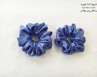 Satin scrunchies M or XL,Spring gifts,Gift ideas,Ponytail holder tie,Satin hair tie accessories,Gift for women,Gift for girl friend