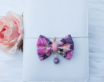 Dainty Bow in Lavender Burst