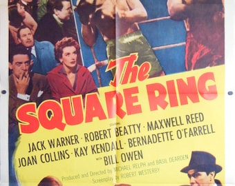 The Square Ring - 1955 - Original US one sheet movie poster