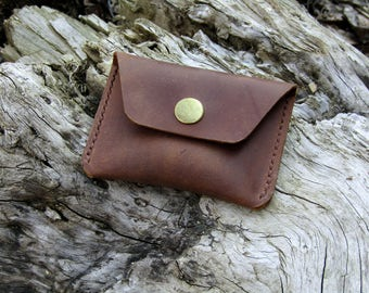 Leather coin purse ,minimalist leather wallet ,slim wallet ,coin wallet ,leather wallet coin,Leather Coin Pouch