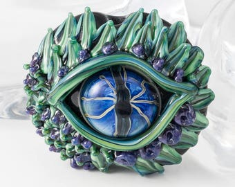 Dragon's Eye Lampwork Bead
