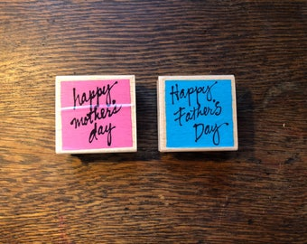 Mothers Day and Fathers Day Stamps