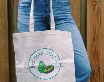 tote bag just avocado it