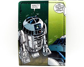 Star Wars Wallet  - R2-D2 Wallet - Comic Book Wallet - Droid - artoo-detoo
