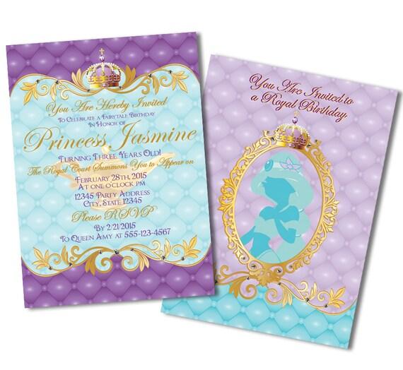 Jasmine Party Invitations Magglebrooks