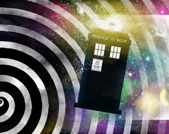 Doctor Who Chapter Topper 11x17 Print