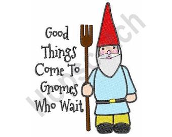 Gnome - Machine Embroidery Design