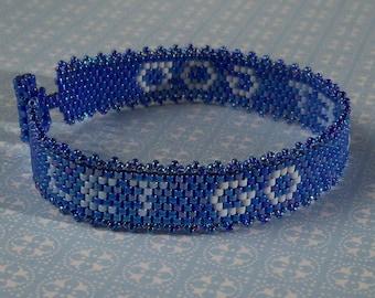 Let Go   Let God - Bracelet Pattern - Peyote Pattern