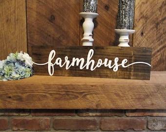 Farmhouse sign, rustic farmhouse sign, farmhouse wall decor, rustic kitchen decor, rustic wall decor, rustic wall sign, farmhouse decor