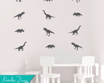 Dinosaur Wall Decor, Any Color, Dinosaur Decals, Fast Shipping