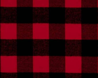 Buffalo Plaid Flannel Scarf Red and Black Plaid Flannel Scarf Black and Red Buffalo Plaid Scarf Ladies Plaid Scarf Girls Plaid Scarf