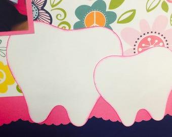 Teeth Paper Die Cut