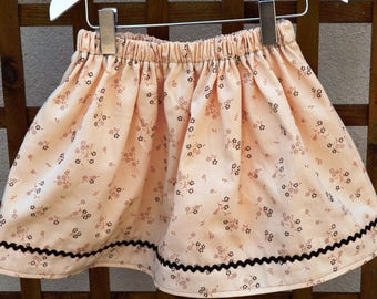 skirt elastic T 5 years old girl