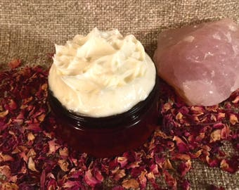 Whipped Vegan Belly Butter Stretch Mark Cream 4oz Pre Post-Pregnancy Skin Care Fade C-Section Scars Unscented or Baby Safe EOs Made to Order
