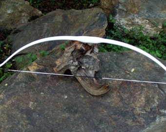 Plain White Recurve